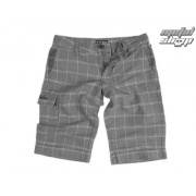 rövidnadrág női VANS - Linen Shorties - Carbon Plaid
