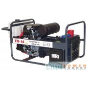 Honda benzinmotoros TR-14 AVR áramfejlesztő, 3 fázis 3x4 kVA
