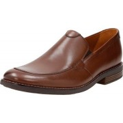 Clarks Men's Becken Step Tan Leather Clogs and Mules - 10 UK/India (44 EU)