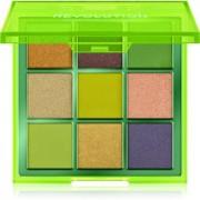 Makeup Revolution Viva Neon paleta de sombra para os olhos tom Up All Night 11,25 g