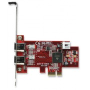 T/Controladora PCI-Express C/2 puertos FireWire 160353