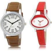 The Shopoholic White Combo Fashionable Funky Look White Dial Analog Watch For Boys And Girls Women Watches In