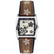Relógio S.Oliver Mulher Pele Flores