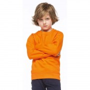 Kariban Oranje katoenmix sweater voor kinderen