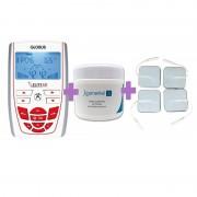 OFERTA PACK BELLEZA: Electroestimulador para Fitness y Belleza Elite S II + Crema Anticelulítica Reductora Kosmetiké de REGALO + Electrodos Adhesivos de REGALO