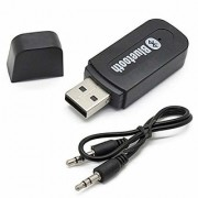 Wireless USB 3.5mm Bluetooth Hands-Free Audio Receiver 3.5mm Music Adapter with Dongle Transmitter USB Mp3 Speaker