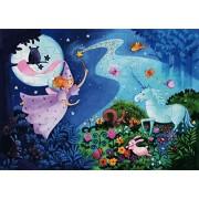 Djeco / Shaped Box Puzzle The Fairy and The Unicorn