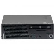 Lenovo ThinkCentre M72E Intel Core i3-3240 3.40 GHz, 4 GB DDR 3, 250 GB HDD, DVD-RW, SFF