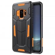 Capa Híbrida Nillkin Defender II para Samsung Galaxy S9 - Cor-de-Laranja / Preto