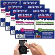 perlprotect Nano Surface Protection 4er-Set NANO Versiegelungen für alle Kunststoffoberflächen