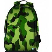 Sleevy laptop rugzak 17,3 Deluxe leger design