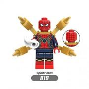 Generic Single Motorcycle Ninja Jay Zane Kai Cole Lloyd Building Blocks Garmadon Compatible with Legoingly Kids DIY Block Toys Figures22 819