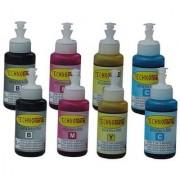 Technomine Epson L100 / L120 / L210 / L220 / L300 / L310 / L350 / L355 / L360 / L365 / L455 / L550 / L555 / L565 / L1300 CMYK Ink 2 Sets