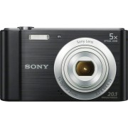 "Sony Dscw800b.Ce3 Fotocamera Digitale Compatta 20.1 Mpx Display 2.7"" Zoom 40x Sensore Ccd Video Hd Colore Nero - Dsc-W800 Cyber-Shot"