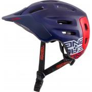 Oneal Defender Flat Casco de bicicleta Rojo/Azul S/M