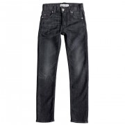 Quiksilver Jeansy Quiksilver Distorsion Grey Damaged Aw Youth grey damaged
