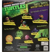 Nickelodeon Turtles Soft Pencil Toppers 10pc Set Battle Pack