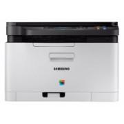 Multifuncional Samsung Xpress SL-C480W, Color, Láser, Inalámbrico, Print/Scan/Copy