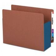 "5 1/4"" Exp File Pockets, Straight Tab, Letter, Blue, 10/box"