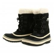 【セール実施中】【送料無料】ソレル SOREL NL1495-011 ウインターカーニバル Winter Carnival Black Stone ウインターブーツ 防水 スノーブーツ レディース