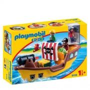 Playmobil 1-2-3 piratenschip 9118