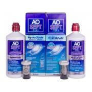 Alcon AO SEPT PLUS HydraGlyde solução 2x360 ml