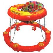 Ehomekart Red Winny Round Musical Walker for Kids