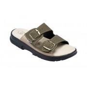 Zdravotní pantofle Sante N/517/36/98/28 CP khaki