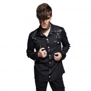 košile pánská s dlouhým rukávem PUNK RAVE - Nostromo - Y-564_B
