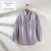 BDO The BDO-Shirt No. 42, Kariert, 39/40 cm - Weiss/Blau/Rot