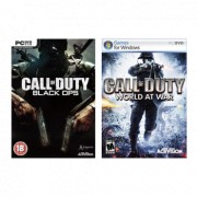 PC Call of Duty Black Ops + World at War
