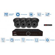 Kamerové sety AHD 4x kamera 1080P s 20m IR a hybridní DVR