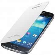 Husa flip Samsung EF-FI919BWEGWW alba pentru Samsung Galaxy S4 Mini i9190/i9195 Galaxy S4 Mini Dual Sim i9192