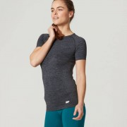 Myprotein Bezešvé tričko - S - Černá