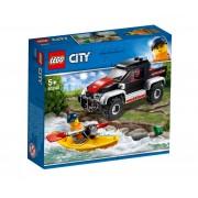 Set de constructie LEGO City Aventura cu caiacul