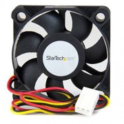 StarTech .com 50x10mm Replacement Ball Bearing Computer Case Fan TX3/LP4 Connector 3 pin case Fan TX3 Fan 50mm Fan