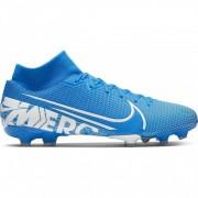 Nike Scarpe Da Calcio Superfly 7 Academy Fg Mg Blu Bianco Uomo EUR 46 / US 12