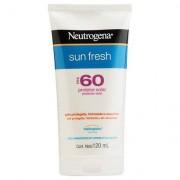 Neutrogena Protetor Solar Sun Fresh FPS 60 120ml - Unissex