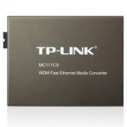 Медиен конвертор RJ-45 to SC fiber Converter TP-Link MC112CS, MC112CS_VZ