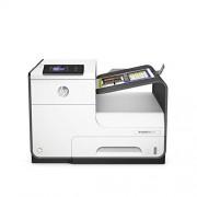 HP PageWide 452dw Inkjetprinter, dubbelzijdig, WiFi, ethernet, HP ePrint, Airprint, Cloud Print, USB, 2400 x 1200 dpi, wit