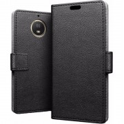 Just in Case Wallet Motorola Moto G5S Plus Book Case Zwart