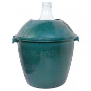 Damigeana 25L in cos din plastic verde