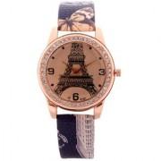 FARP Analog Eiffel tower Design Black Colour Fancy Womens Watches Ladies Watches Girls Watches Designer Watches