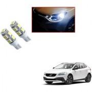 Auto Addict Car T10 9 SMD Headlight LED Bulb for Headlights Parking Light Number Plate Light Indicator Light For Volvo V40