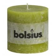 Bolsius Stompkaars 100/100 rustiek Groen