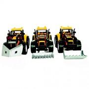 Emazing Toys: Under Construction Vehicle Truck Toy (Set of 3)_Black