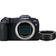 Canon Cámara Mirrorless CANON EOS RP + Adaptador EF-EOS R (26.2 MP - Sensor: Full-Frame - ISO: 100 - 102400)