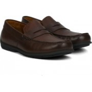 Clarks Verado Step Dark Brown Lea corporate casuals For Men(Brown)