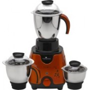 Padmashree Destiny- 750-Watt 3 Jar Mixer Grinder With Strong Body and Quality Service (Orange) Mixer Juicer Jar(1250 ml)