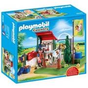Playmobil Country, Statie de ingrijire cai